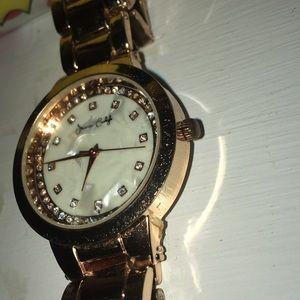 Rose Gold Watch! Very Pretty!